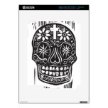 Day of the Dead Skull iPad 3 Skins