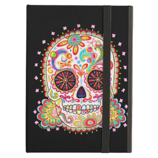 Day of the Dead Skull iPad Case with Kickstand