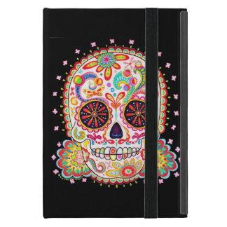 Day of the Dead Skull iPad Mini Case w Kickstand
