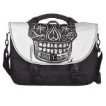 Day of the Dead Skull Laptop Computer Bag