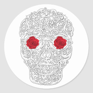 Day of the Dead Skull Stickers
