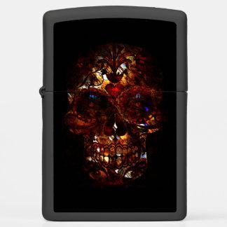 Day of the Dead Skull Zippo Lighter