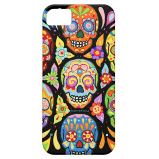 Day of the Dead Skulls iPhone 5 Case by Case-Mate