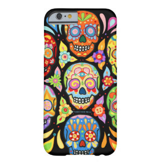 Day of the Dead Skulls iPhone 6 case by