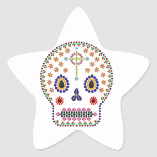 Day of the Dead Star Sticker