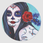 Day of the dead stickers by Renee Lavoie