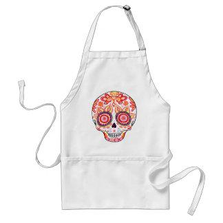 Day of the Dead Sugar Skull Apron