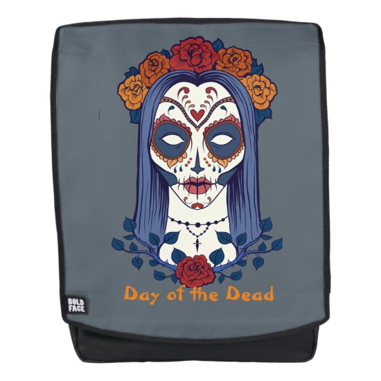 Day of the Dead, Sugar Skull Bride Backpack