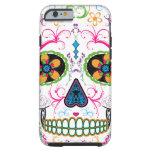 Day of the Dead Sugar Skull - Bright Multi Color iPhone 6 Case