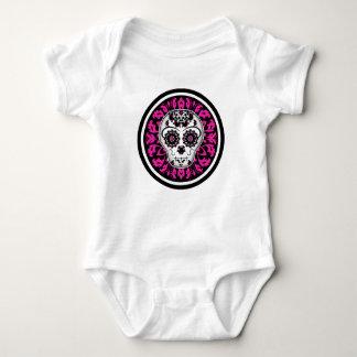 Day of the Dead sugar skull custom baby T Shirt