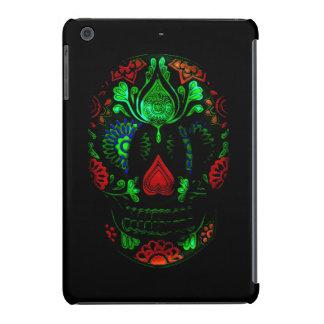 Day of the Dead Sugar Skull Grunge Design iPad Mini Retina Cover