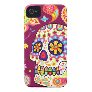 Day of the Dead Sugar Skull iPhone 4 Case