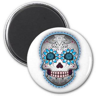 Day Of The Dead Sugar Skull Magnet