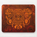 Day of the Dead Sugar Skull Mouse Pads