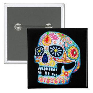 Day of the Dead Sugar Skull Pin