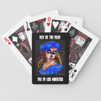 """Day of the Dead Sugar Skull"" Playing Cards"