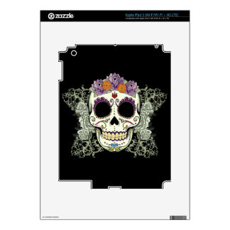 DAY OF THE DEAD SUGAR SKULL SKINS FOR iPad 3