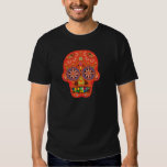 Day of the dead sugar skull tee shirts