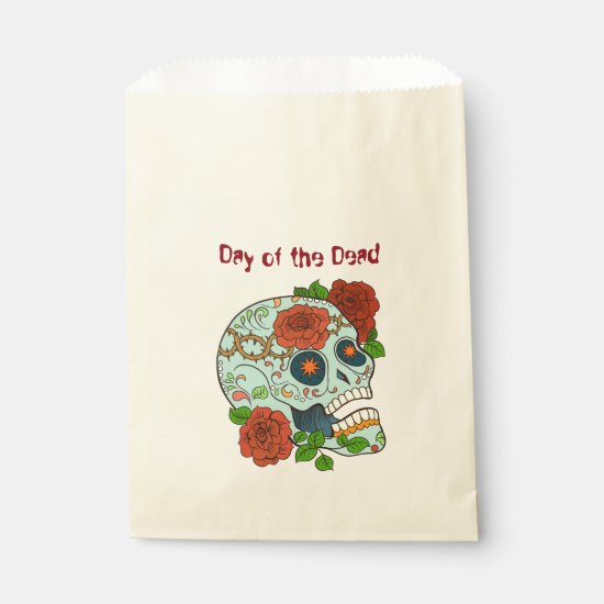 Day of the Dead, Sugar Skull w/Roses Goodie Bag