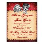 Day of the Dead Sugar Skull Wedding Invitations