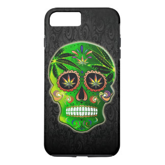 Day of the Dead Sugar Skull weed iPhone 7 Plus Case