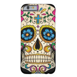 Day of the Dead Sugar Skull with Cross Barely There iPhone 6 Case