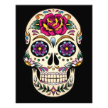 Day of the Dead Sugar Skull with Rose Photographic Print