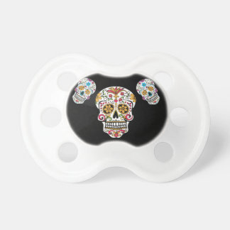 Day of the Dead Sugar Skulls BooginHead Pacifier