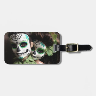 Day of the Dead Sweethearts Luggage Tag