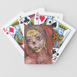 Day of the Dead Tarot Fortune Teller Bicycle Playing Cards