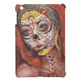 Day of the Dead Tarot Fortune Teller iPad Mini Covers