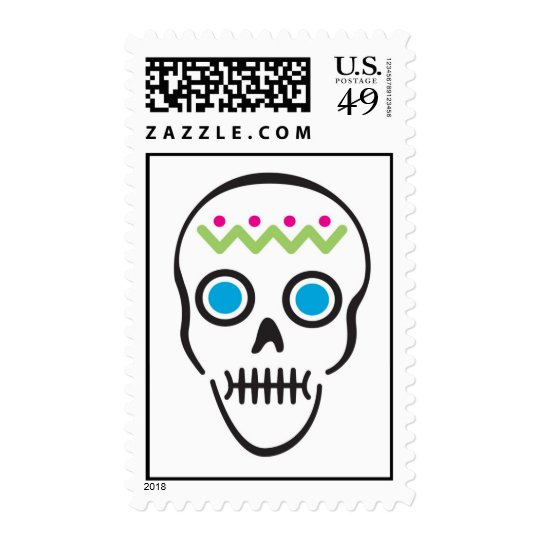 Day of the Dead Three Stamp