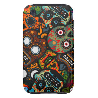 Day Of The Dead Tough iPhone 3 Cover