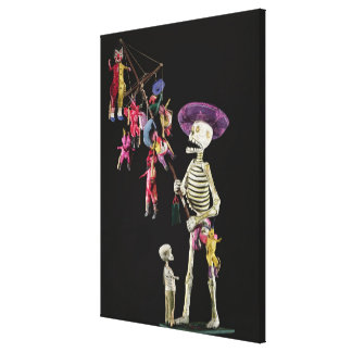 Day of the Dead: Toy Peddler, from Oaxaca Canvas Print