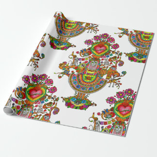 Day of the Dead Tree Wrapping Paper