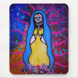 DAY OF THE DEAD VIRGEN GUADALUPE MOUSE PAD