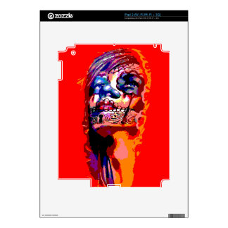 Day of the Dead Virgin Mary Decal For iPad 2