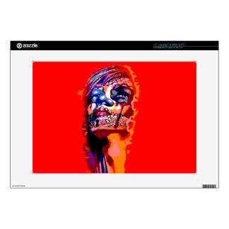 Day of the Dead Virgin Mary Laptop Skins
