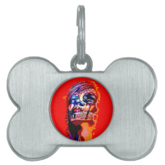 Day of the Dead Virgin Mary Pet ID Tag