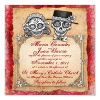 Exceptionnel Day Of The Dead Wedding Invitations U0026 Announcements | Zazzle