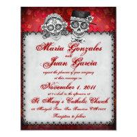 Superieur Day Of The Dead Wedding Invitations U0026 Announcements | Zazzle