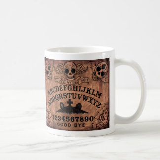 Day of the Dead witch board coffee mug