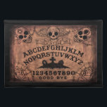 """Day of the Dead witch board place mat<br><div class=""""desc"""">Day of the Dead witch board place mat please visit www.shayneofthedead.com</div>"""