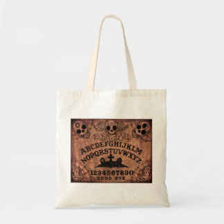 Day of the Dead witch board tote
