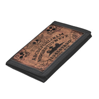 Day of the Dead witch board wallet