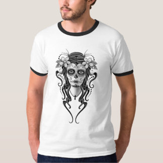 Day of the Dead Woman (grey) Shirt