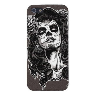 Day of the Dead Woman iPhone 5 Cases