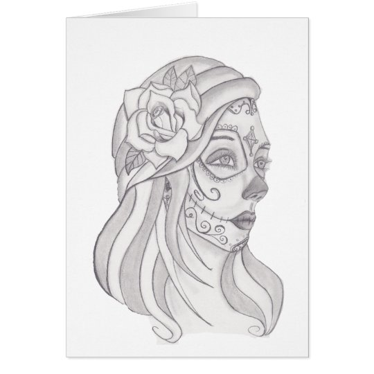 Day of the Dead Women 1 Card