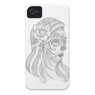 Day of the Dead Women 1 iPhone 4 Case-Mate Case