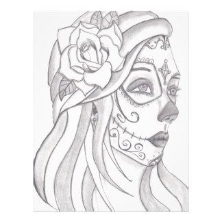 Day of the Dead Women 1 Letterhead